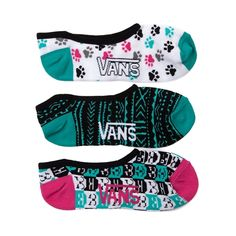 Shop for Womens Vans Pixel Kitty Liners 3 Pack in MULTI at Journeys Shoes.