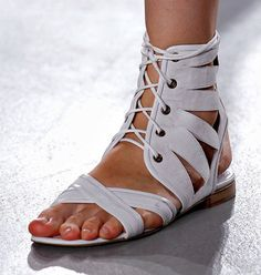 Spring 2013 Band of Outsiders  Flat sandals