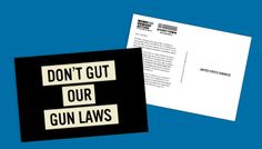 """The NRA is trying to gut our gun laws -- putting our communities and our families at risk.  Right now, they're pushing an extremely dangerous policy they call """"concealed carry reciprocity"""" that would force your state to abide by the weakest gun laws in the nation -- and there's nothing your state will be able to do about it. Use this form to flood Congress's mailbox with a clear, resounding message: Don't gut our gun laws. Protect public safety.   Dear Lawmaker --  ..."""