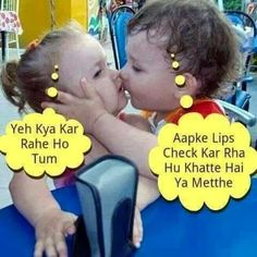 Haaaa haa cute baby quotes, funny quotes for kids, funny picture quotes, love Cute Couple Quotes, Cute Baby Quotes, Cute Funny Quotes, Funny Quotes For Kids, Funny Picture Quotes, Girl Quotes, Funny Jokes, Whatsapp Fun, Funny People Pictures
