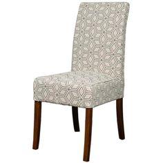 108239-GD-A/Valencia Fabric Chair Amber Legs, Geo Diamond