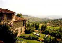 Would love to rent a lovely house in Italy for an extended vacation.( La Colonna (Panzano in Chianti, Chianti) Italy