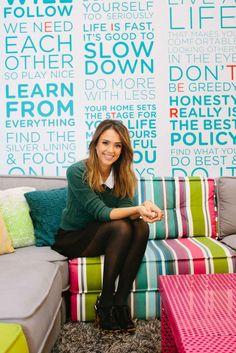 Jessica Alba Honest Company Health Tips - Natural