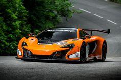 McLaren 650S GT3 Race Car 1; but where do you stow the golf clubs?