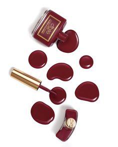 Olivia Palermo's 'Napa Valley' wine red color for Ciaté London | Sephora Beauty Board