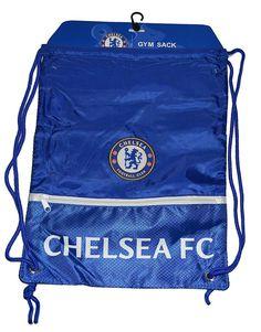 e9bf20ecd7 Chelsea FC - Gym Sack Bag - Draw String Backpack Cinch Bag - Blue - One