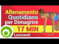 Esercizi per Dimagrire - Allenamento per Perdere Peso - YouTube