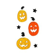 Halloween Pumpkin Gel Clings - .5x12 ($2) ❤ liked on Polyvore featuring home, home decor, holiday decorations, halloween, pumpkin, pumpkin home decor, halloween home decor and holiday window decorations