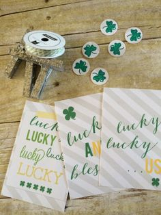 Lucky Printables – Decorate your home with these cute quotes for St. Patrick's Day