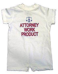 Attorney Work Product Romper. $22.95