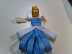 A tutorial for how to make princess hairbows