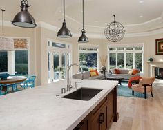 Caesarstone Frosty Carrina Home Design Ideas, Pictures, Remodel and Decor