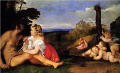 The Three Ages of Man - Titian, c.1512, 024/255.
