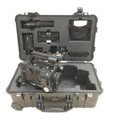 Sony PXW-FS7 Camera and SmartHD 502 Monitor + Sony A7S2 Camera to fit Peli 1510. Created using LD18 foam density