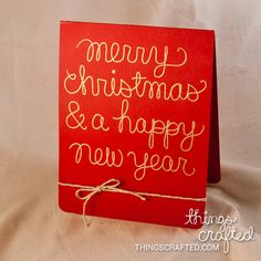 ThingsCrafted Merry Christmas Grand Opening Blog Hop