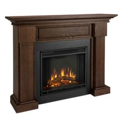 Give your new living room design the centerpiece is deserves with the Real Flame Hillcrest Electric Fireplace . This wonderful electric fireplace comes. Electric Fireplace Reviews, Gel Fireplace, Fireplace Mantels, Fireplace Ideas, Fireplace Surrounds, Chestnut Oak, Fireplace Accessories, Decor Styles