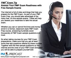 PMP Exam Tip - Assess Your #PMP Exam Readiness with Free Sample Exams