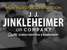 Jinkleheimer & Company is a Michigan based provider of quality screen printing, embroidery, custom head wear and promotional products for over 25 years. Livingston County, Design Your Own, Screen Printing, Michigan, Prints, Screen Printing Press, Silk Screen Printing, Screenprinting