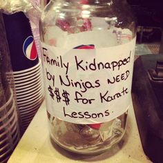Funny Tip Jar. I am totally tipping these people. Fuel Pizza, Funny Tip Jars, Bartender Funny, Cafe Quotes, Restaurant Humor, Best Iced Coffee, Dream Bars, Summer Fest, Coffee Stands