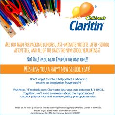 Tips to Cope with Fall Allergies from Children's Claritin