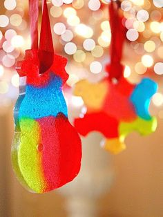 the pink couch: Candy Ornaments - Tutorial