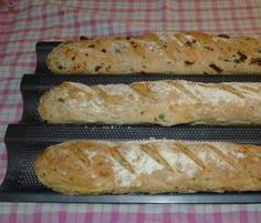 Recipe Ochucené bagety by eliska, learn to make this recipe easily in your kitchen machine and discover other Thermomix recipes in Chléb a rohlíky. Hot Dog Buns, Hot Dogs, Kitchen Machine, Bread, Vegetables, Thumbnail Image, Recipes, Food, Kitchens