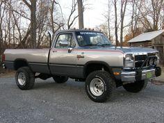 old trucks with stacks   1st Gen Cummins