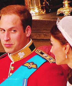Will and Kate on their wedding day.