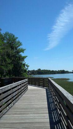 Gilbert Park. Mount Dora, Florida