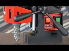 Promotech - Portable Magnetic Drill (PRO-36) - YouTube