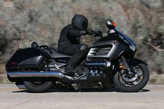 Bagger 2013 von Honda Goldwing