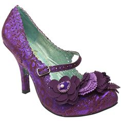 If it was up to me, and I didn't have to walk anywhere, I'd wear nothing but irregular choice shoes. Dreams are free.