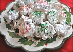 Chocolate Chip Cloud Cookies ~ http://www.southernplate.com