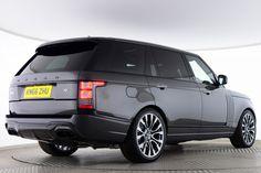 Used Land Rover Range Rover V8 AUTOBIOGRAPHY LWB URBAN V2 Grey for sale Essex KM66ZHU   Saxton 4x4
