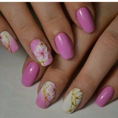 70 + Cute Simple Nail Designs 2017 - style you 7 Pale Pink Nails, Pink Manicure, Pink Nail Art, White Nail Art, Pink Shellac, Manicure Ideas, Nail Designs 2017, Best Nail Art Designs, Acrylic Nail Designs