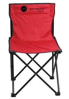 A sleek durable folding Chair.
