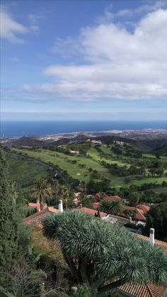 View from Villa Bandama Golf, Gran Canaria