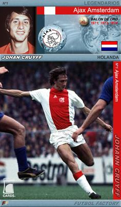 Legends Cards: Cruyff, 'el flaco ajacied'