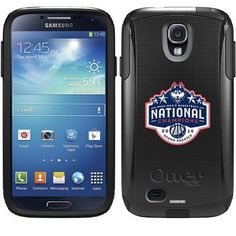 Connecticut 2014 Basketball Champions 2 Design on OtterBox Commuter Series Case for Samsung Galaxy S4
