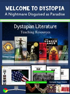 This bundled resource provides students with the frame of reference and context they need in order to understand the context of dystopian literature! The materials will provide a great introduction or supplement to any dystopian lit unit! Activities include dystopian story literary analysis activity and dystopian image analysis. Students identify dystopian themes in 20 images! This includes an online library with access to 12 Dystopian short stories for teens and tweens!