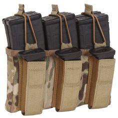 Amazon.com: Sandpiper of California Triple Shingle M16 Pouch with Pistol Mags, Coyote Brown: Sports Outdoors