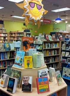 Our Kids Summer Reading display, complete with readings lists for K-2, 3-5, & 6-8. (PSB 2012)