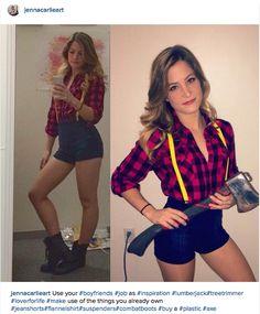 A sexy lumberjack!