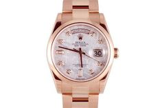 a6e3eccaf9eb Rose Gold Rolex, Rolex Day Date, Love Rose, Rolex Watches, Luxury