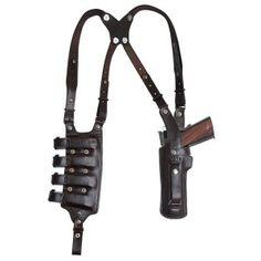 Right Hand Pull 1880/'s Old West Huckleberry Shoulder Holster//Rig Black