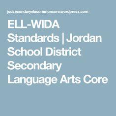 ELL-WIDA Standards