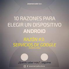 ¿Más razones para elegir un dispositivo #Android? Tenés acceso a la mejor plataforma para manejar los productos y servicios de Google, entre los más populares tenés el Motor de Búsqueda, Google Play Store que pone a tu disposición miles de #apps gratuitas, Drive para almacenamiento de archivos y #Gmail para correos electrónicos, todo con una sincronía perfecta entre dispositivos. ¿No tenes un equipo Android?¿¡Que esperás!?📲que te parece un #Alcatel #Pixi3 liberado con sistema Android…