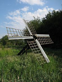 Tjaskers in Drenthe - A Tjasker is a type of small drainage windmill used in the Netherlands. There are four tjaskers remaining in Drenthe.