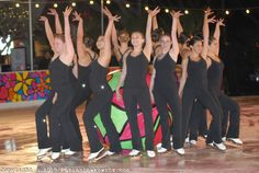"""California Gold Synchronized Skating Team performs during """"Ice at Santa Monica's"""" grand opening ceremony on  Wednesday, November 10, 2010."""