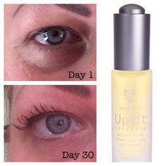 This is my eye! I LOVE our new Uplift eye serum!!! The results are phenomenal. I'm impressed!!